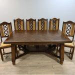 Stalas + 6 kėdės